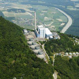 Centrale thermique de Vouvry